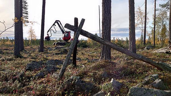 Komatsu Forest -valokuvauskilpailu lokakuu sija 2 Tuomo Väyrynen