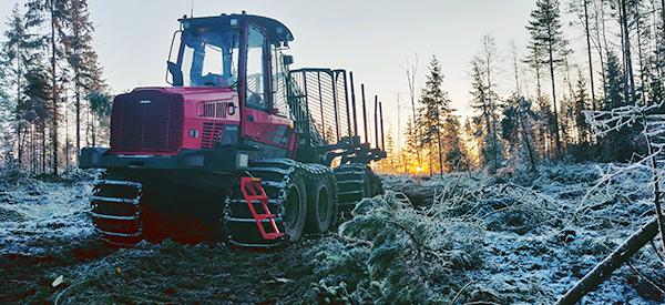 Komatsu Forest -valokuvauskilpailu marraskuu sija 3 Matti Raunio